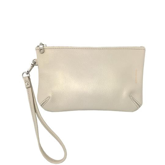 Wristlet Pouch - Iridescent Pearl