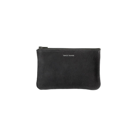 8aad166947 Small Flat Zip Pouch - Black Revolver