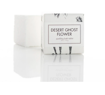 SPARKLING BATH TABLETS - DESERT GHOST FLOWER