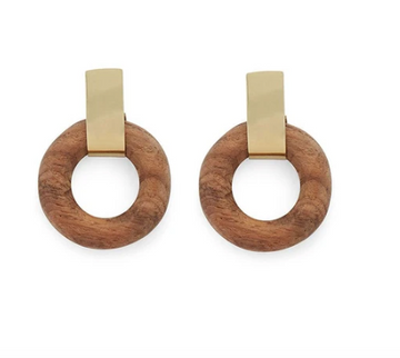 Arlie Circle Stud Earrings