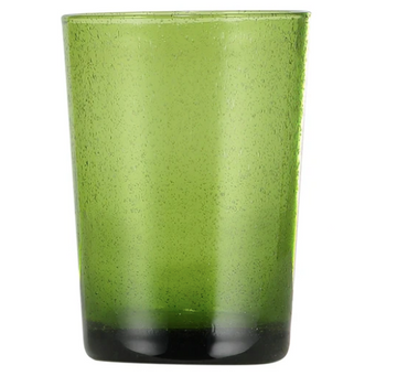 Apple Green Handmade Glass Tumbler