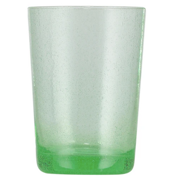 Malachite Green Handmade Glass Tumbler