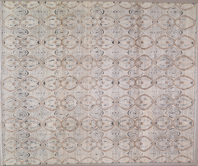 HANDMADE CONTEMPORARY RUG 7'8x9'3