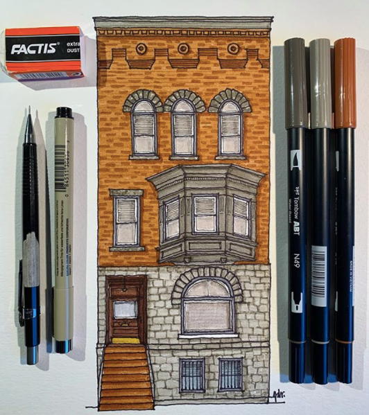 Brownstone Drawings