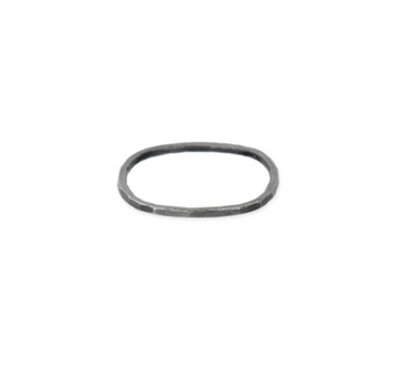 THIN ROUND STACKING OXIDIZED BAND