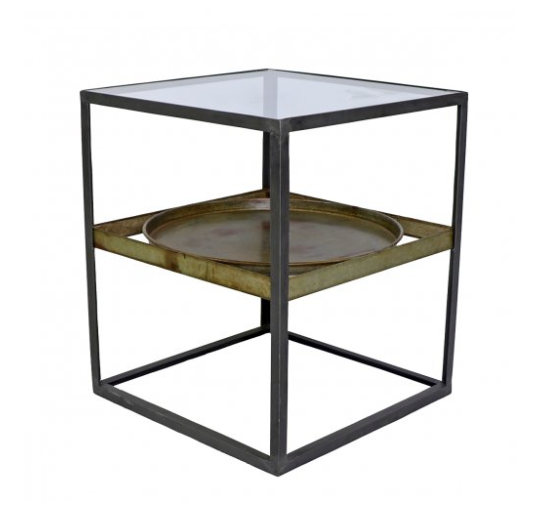 Trays Display Side Table