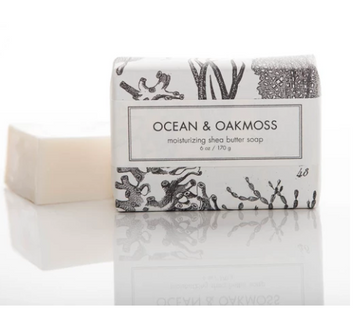SHEA BUTTER SOAP - OCEAN & OAKMOSS