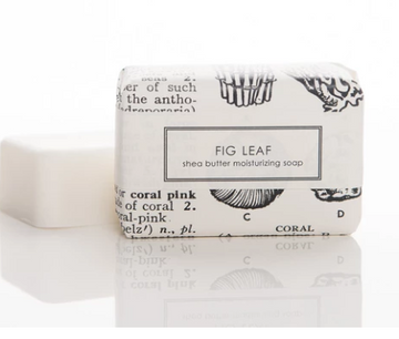 SHEA BUTTER SOAP - FIG LEAF BATH BAR