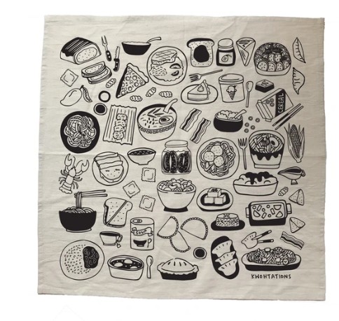 Home Is Where The Food Is Tea Towel