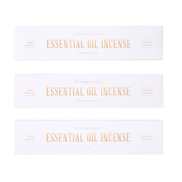 Essential Oil Incense Tuberose, Lemongrass & Patchouli