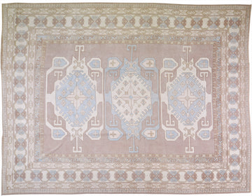 Turkish Oushak Rug 9'10