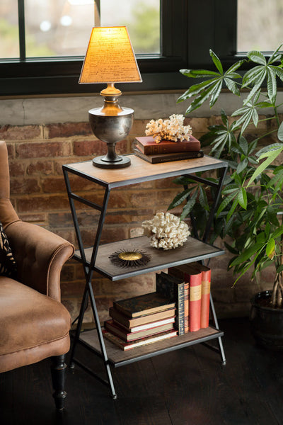 Three Tiered End Table