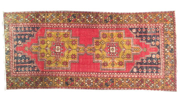 Vintage Turkish Rug 4