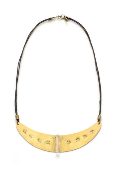 Baja Crescent Collar Necklace