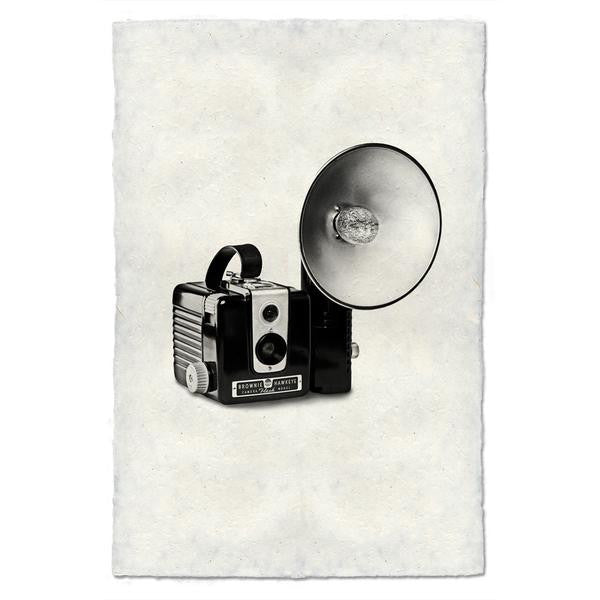 "Vintage Camera Print ""Brownie Hawkeye"""