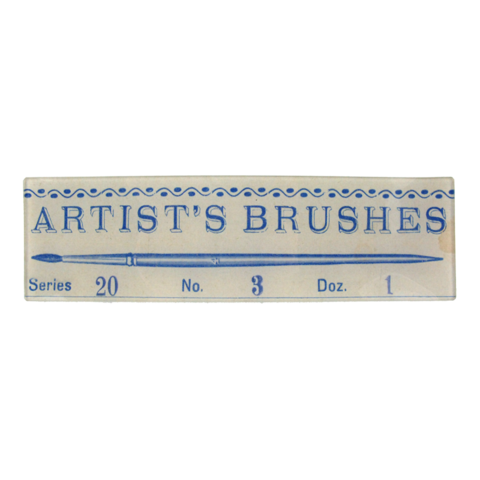 John Derian Artists Brushes 3.5x12