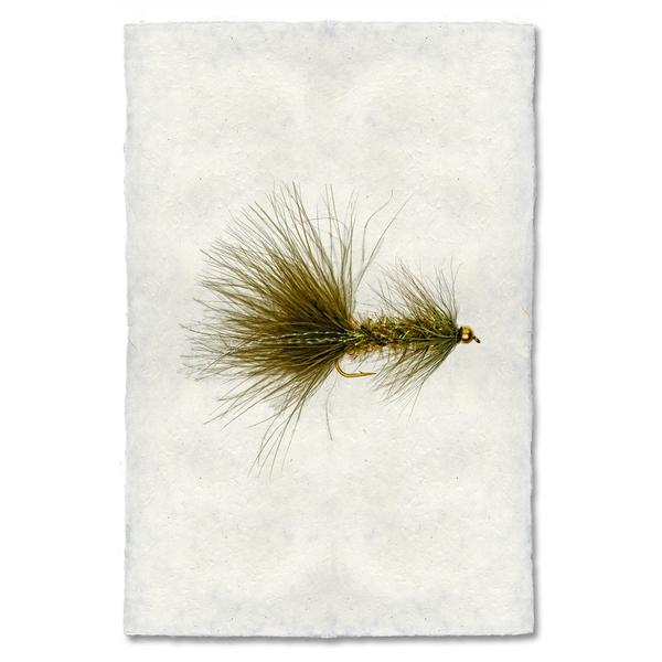 Fly Fishing Print - Crystal Bugger