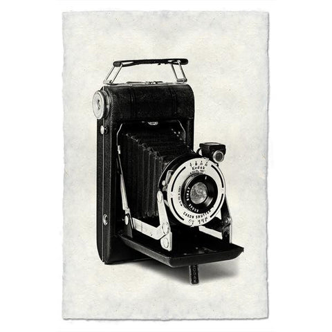 "Vintage Camera Print ""Folding Autographic Brownie"""