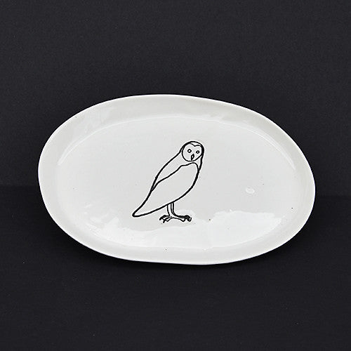 Snowy Owl Dishes