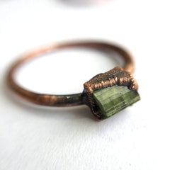 Mixed Copper Gemstone Ring