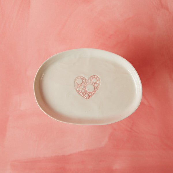 Large Heart Dishes