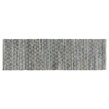 HANDMADE CONTEMPORARY RUG 2.5x8