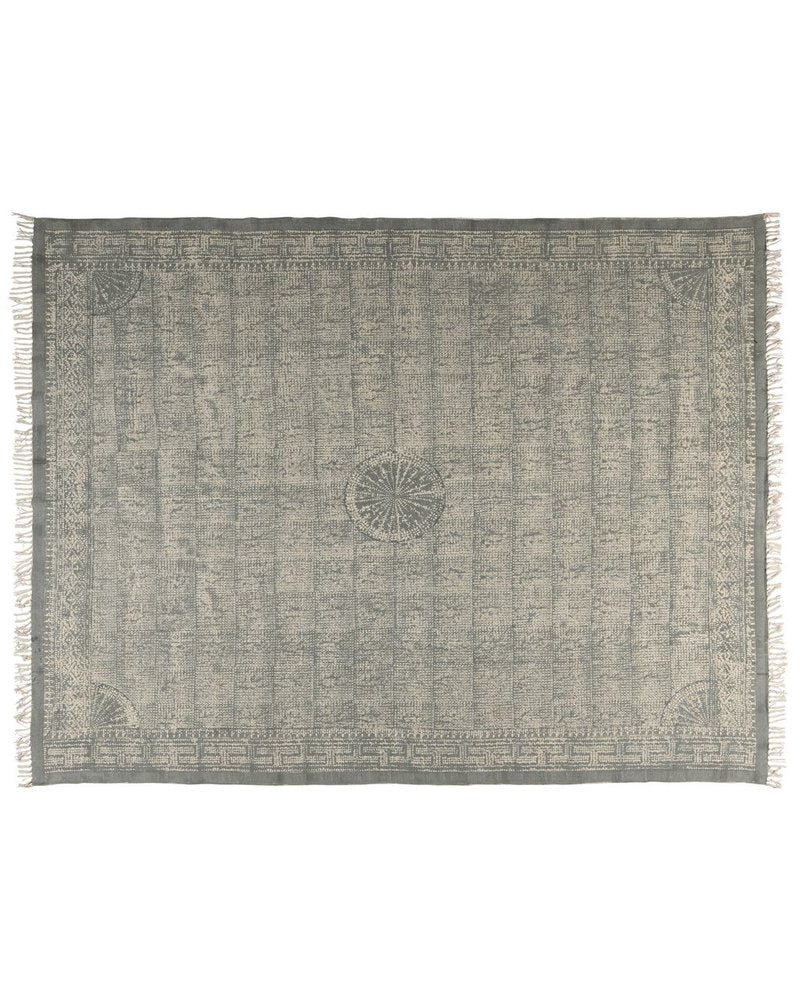 HANDMADE CONTEMPORARY RUG Sky Grey 8 x 10