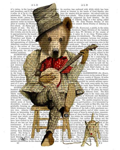Banjo Bear Book Print
