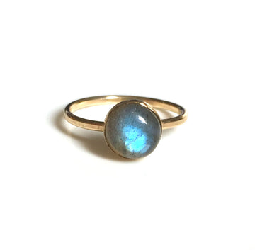 Labradorite Ring 8mm