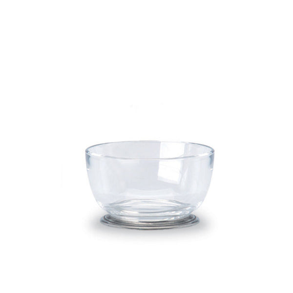 Round Small Crystal Bowl