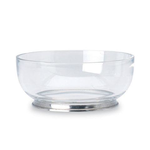 Round Large Crystal Bowl