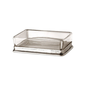 Rectangular Glass Soap Dish