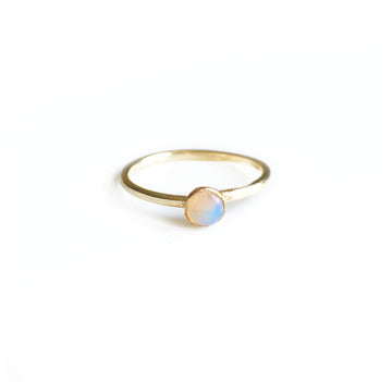 Small Gemstone Ring