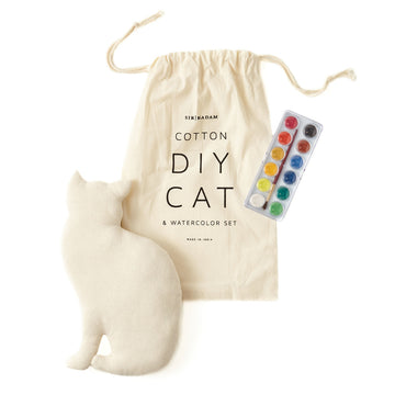 Cat & Watercolor Set