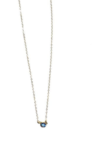 14kt Topaz Necklace