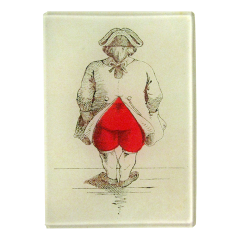 "John Derian Decoupage Ass of Hearts 3.5 x 5"" Rect. Tray"