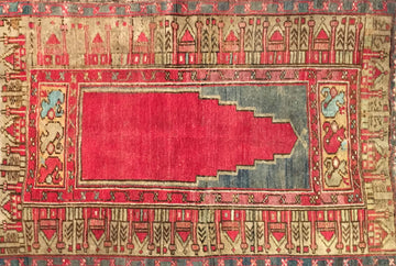 Vintage Turkish Rug 3'0