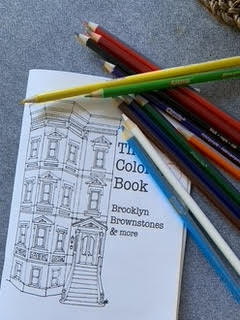 Brownstone Coloring Book
