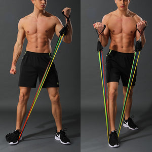High Strenght Pull Up Tension Ropes 11 pcs