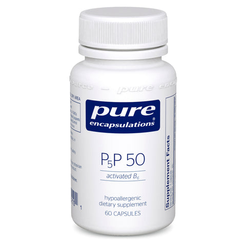 P5P 50 (activated B6) - (Pure Encapsulations)