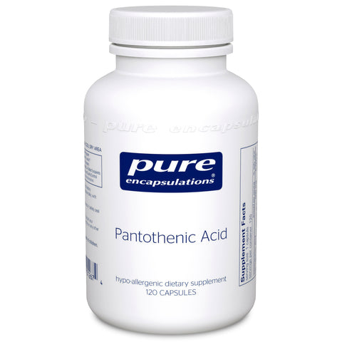 Pantothenic Acid - (Pure Encapsulations)