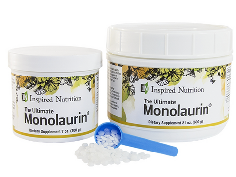 inspired nutrition monolaurin