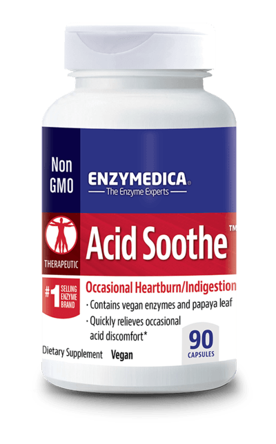 Acid Soothe™ - CAPSULES  (Enzymedica)