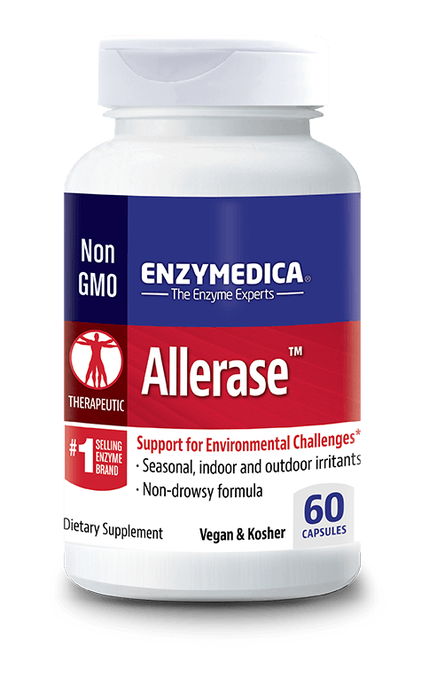 Allerase™ - CAPSULES  (Enzymedica)