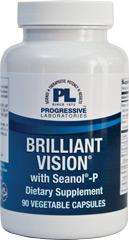 Brilliant Vision with Seanol-P (Progressive Labs) - 90 Capsules