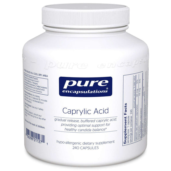 Caprylic Acid (Pure Encapsulations)