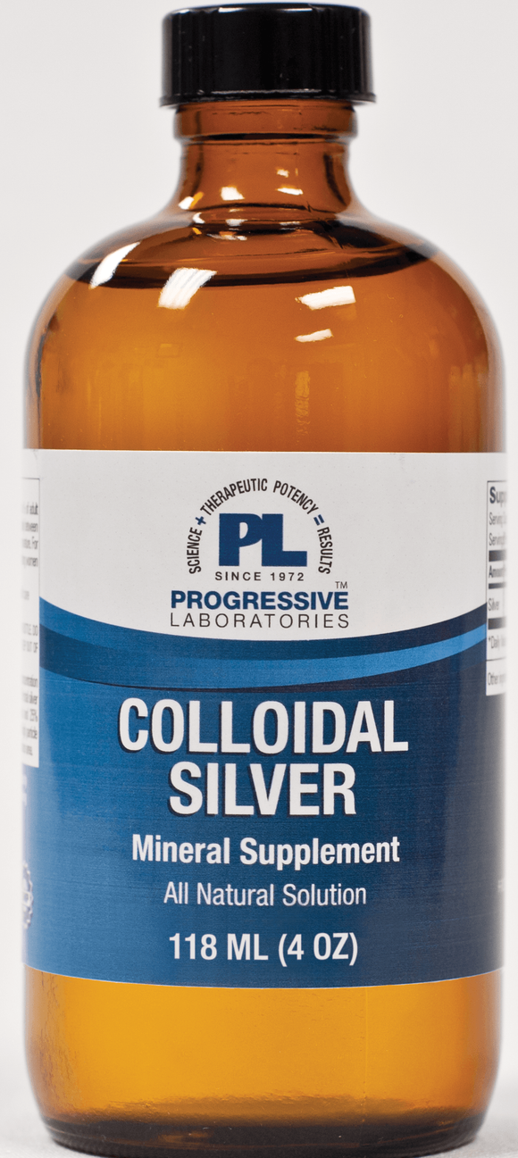 Colloidal Silver (Progressive Labs) - 4oz & 8oz liquid