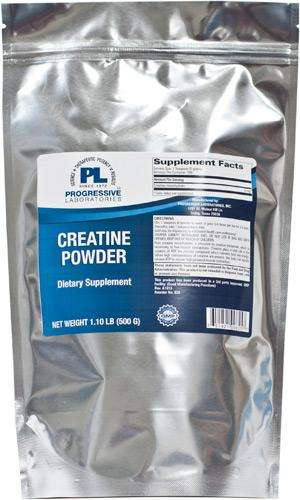 Creatine Powder (Progressive Labs) - 500 Grams