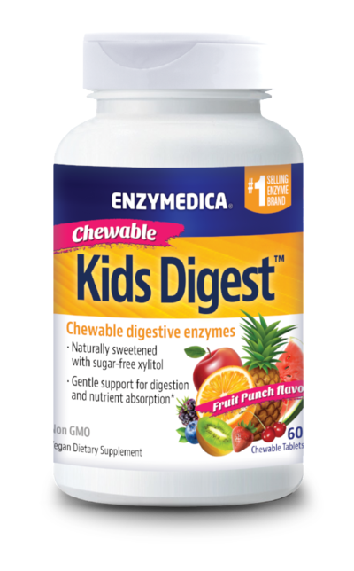NEW! Kids Digest™ - TABLETS  (Enzymedica)