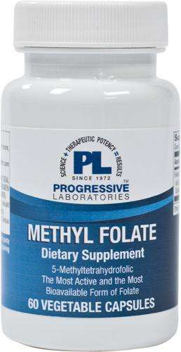 Methyl Folate (Progressive Labs) - 60 Capsules